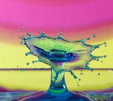Psychedelic Splash by ian-roberts