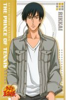 Sanada Genichiro Trading Card by Gemsy-chan
