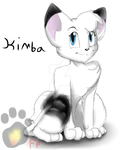 .:Kimba the white lion:. by TheRumTumTiger