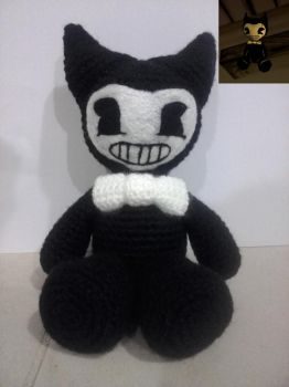Bendy Bendy And The Ink Machine ~ Amigurumi by OnlyIfItsFluffy
