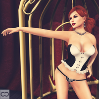 SL: Burlesque - Feb 2015 - Blacklace Lounge by CryssieCarver