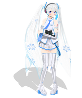 .: DL Series :. Dondon Snow Miku Hatsune by Duekko