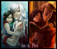 Ice and Fire by DavinArfel