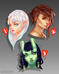 [OPEN] Portrait Adopts by Valkymie