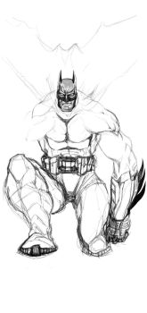 the knight of arkham by FbDsKuLMan