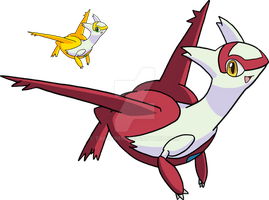 380 - Latias - Art v.2 by Tails19950