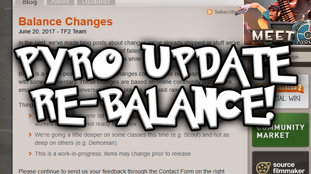 TF2: Pyro Update Re-Balance by MudkipWaterkip