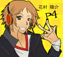 Persona 4 : Never Listening by goth-bird