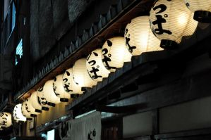 Gion Lanterns by tilldawn