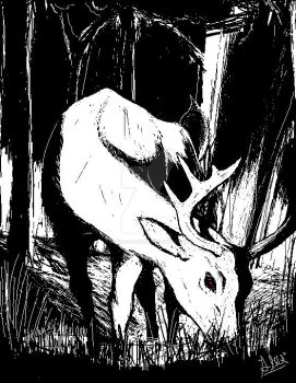 Deer by UchigawaAkuma