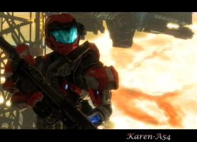 Spartan A54, Karen by 2KEternal7