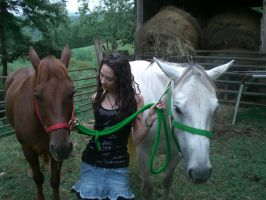 Me and My New Horses 3 by JasmineBelle