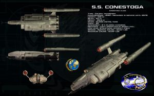 Conestoga class ortho - SS Conestoga by unusualsuspex