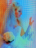A bride lost in thought by chemoelectric