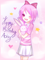 HBD Abby by Hannun