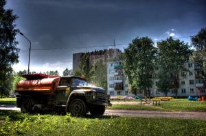 Russian Truck HDR by Skellah