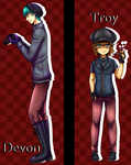 IP - collabs Devon y Troy by AderiAsha