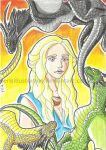 Mother of Dragons by PerisIllustration