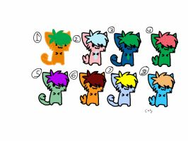 Cat Adopts 1 to 5 Points!!! by Foreststone