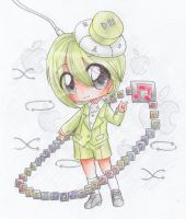 Little ipod Olive by bunnyb133