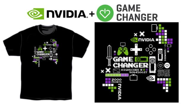 NVIDIA T-Shirt for Charity Entry3 by Toineed