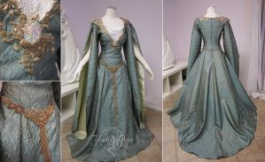 Galadriel Inspired Gown by Lillyxandra