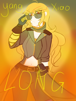 Rwby yang Xiao long by nightpandora