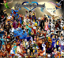 Kingdom Hearts Group Shot by GeekTruth64