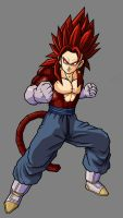 Vegetto SSJ4 GT by hsvhrt