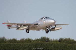 de Havilland Vampire by DAZZY-P
