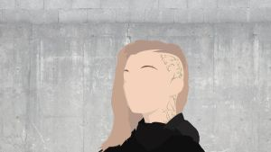 Cressida: Hunger Games (Minimalist) by SomeElixer