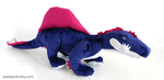 ARK-Inspired Spinosaurus Plushie by Vespyrie