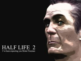 Half Life 2 GMan by private-tee