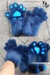 Paws for Shirrey Wolf by Chibi-Alu