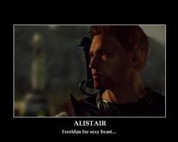 Alistair Motiv Poster by TalesofTears
