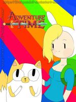 Adventure Time with Fionna and Cake by LittlePanda3