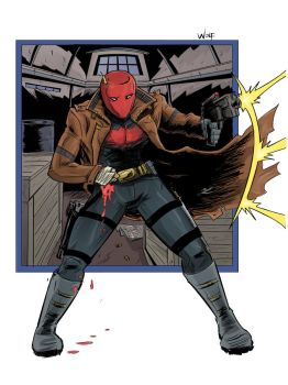 Red Hood by brianthomaswolf