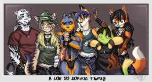 :: A not so normal Family :: by IvyBeth