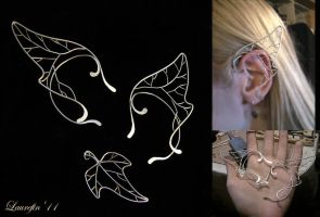 Branches - elf's earcuffs by Laurefin-Estelinion