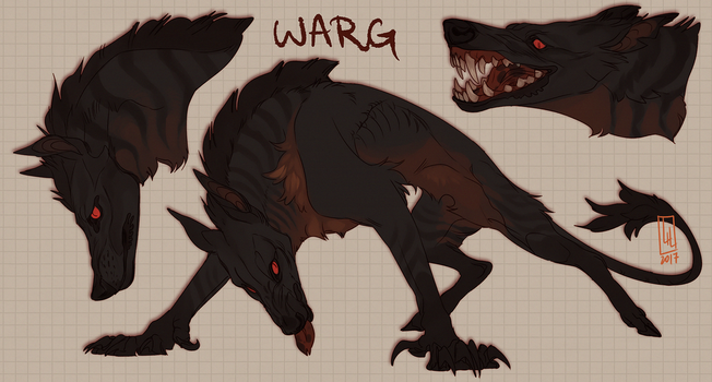 Common Warg interpretation by LiLaiRa