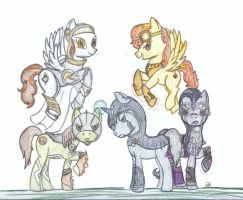 My Little Planeswalkers by PrincesaNamine