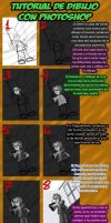 Tutorial drawing with Photoshop CS5 by marmo98