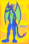 [Trade] Asher the dragon by McTaylis
