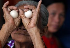 Egg Lady by hersley