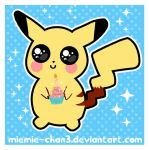 kawaii pikachu by miemie-chan3