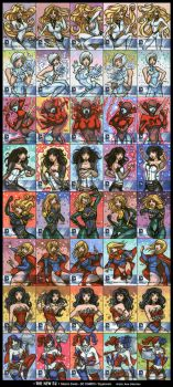 The New 52 _ DC Comics _ Cryptozoic by gyanax