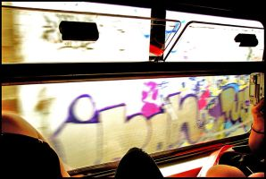 Urban Scrawl by HubertCumberdale