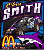 Chris Smith Shirt Back 2008 by tbtyler