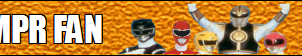 Mighty Morphin Power Rangers fan button by GENETICHERO