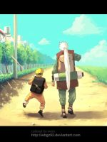 naruto and jiraiya by wbgz92